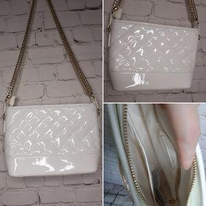 Forever 21 white shoulder bag
